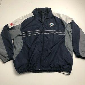 NFL Reebok Miami Dolphins Windbreaker Jacket